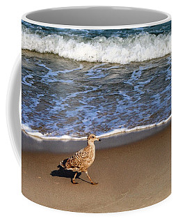 Sandpiper At Ortley Beach, Nj Coffee Mug