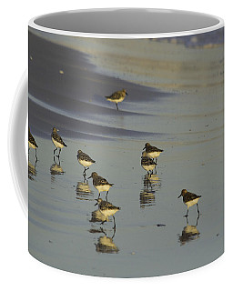 Sandpiper Sunset Reflection Coffee Mug