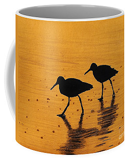 Sandpipers - At - Sunrise Coffee Mug
