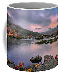 Sandstone Falls At Dawn Coffee Mug