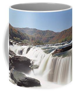 Sandstone Falls New River Gorge Wv Usa Coffee Mug