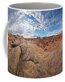 360 View Of Vermillion Cliffs  Coffee Mug