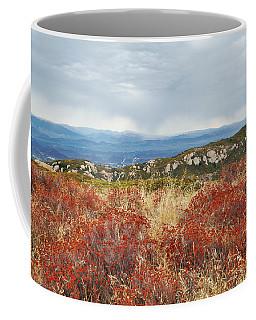 Sandstone Peak Fall Landscape Coffee Mug