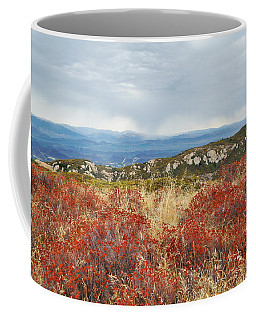 Sandstone Peak Fall Landscape Coffee Mug