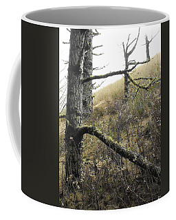Coffee Mug featuring the photograph Sandy Hillside by Adria Trail