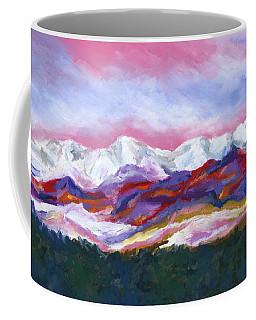 Sangre De Cristo Mountains Coffee Mug