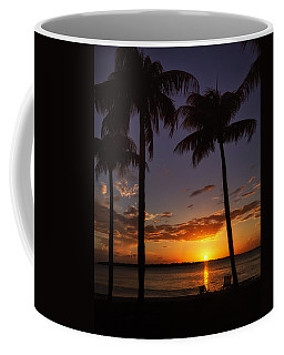 Coffee Mug featuring the photograph Sanibel Island Sunset by Kim Hojnacki