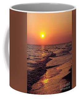 Coffee Mug featuring the photograph Sanibel Sunset by D Hackett