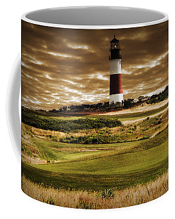 Sankaty Head Lighthouse In Nantucket Coffee Mug