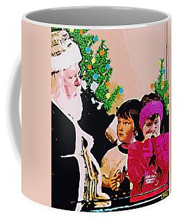 Santa And The Kids Coffee Mug