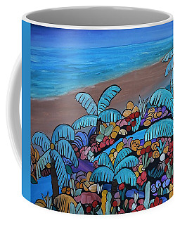 Santa Barbara Beach Coffee Mug