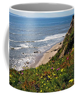 Santa Barbara Beach Beauty Coffee Mug
