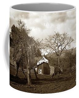 Santa Barbara Mission California Circa 1890 Coffee Mug