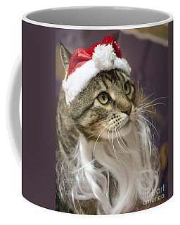 Santa Cat Coffee Mug