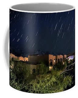 Coffee Mug featuring the photograph Santa Catalina Mountain Startrails by Dan McManus