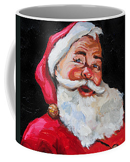 Santa Claus Coffee Mug by Carole Foret