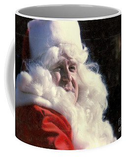 Coffee Mug featuring the photograph New Orleans Santa Claus John Goodman In Louisiana by Michael Hoard