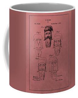 Santa Claus Mask Patent Coffee Mug