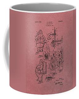 Santa Clause Toy Patent Coffee Mug