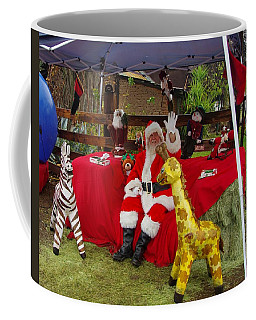 Santa Clausewith The Animals Coffee Mug