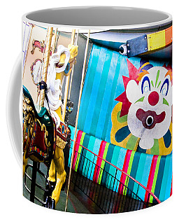 Santa Cruz Boardwalk Carousel Coffee Mug