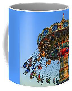 Santa Cruz Seaswing At Sunset 5 Coffee Mug