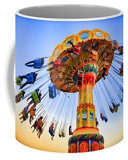 Santa Cruz Seaswing At Sunset 6 Painterly Coffee Mug