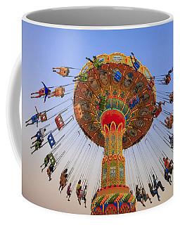 Santa Cruz Seaswing At Sunset 9 Coffee Mug