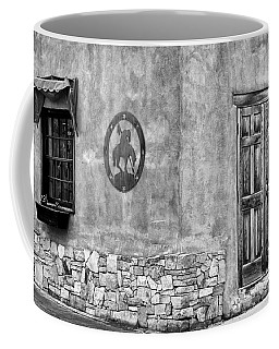 Coffee Mug featuring the photograph Santa Fe New Mexico Street Corner by Ron White