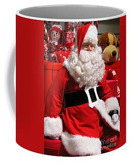 Santa Is Ready Coffee Mug by Ann Horn