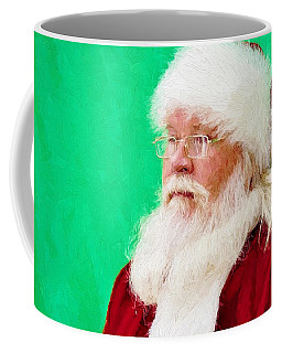 Santa Coffee Mug by Ludwig Keck