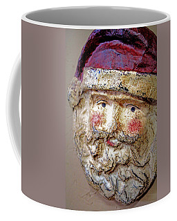 Coffee Mug featuring the photograph Santa by Lynn Sprowl