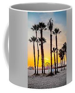 Santa Monica Palms Coffee Mug
