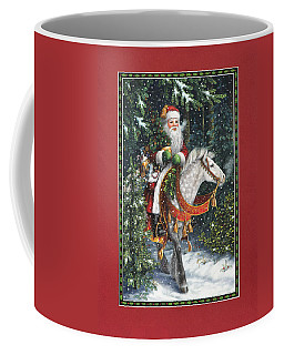 Santa Of The Northern Forest Coffee Mug