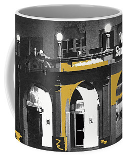 Coffee Mug featuring the photograph Santa Rita Hotel Tucson Arizona 1969 by David Lee Guss