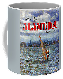 Alameda Santa's Greetings Coffee Mug