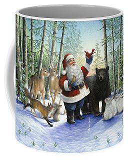 Santa's Christmas Morning Coffee Mug