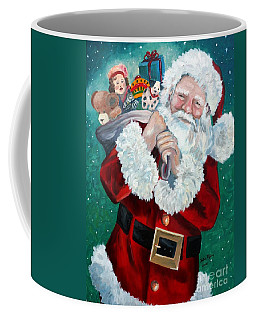 Santa's Coming To Town Coffee Mug