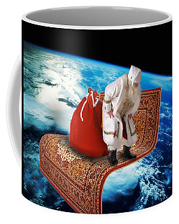 Santa's Flying Carpet Coffee Mug