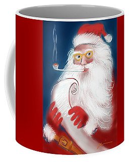 Santa's List Coffee Mug