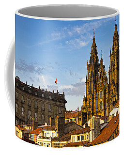 Coffee Mug featuring the photograph Santiago De Compostela Cathedral Galicia Spain by Pablo Avanzini