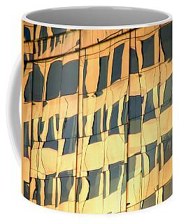 Coffee Mug featuring the photograph Santiago Reflection II by Rick Locke