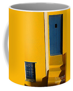 Santorini Doorway Coffee Mug