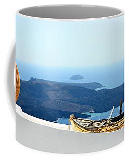Santorini Rooftop Coffee Mug
