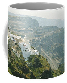 Santorini Coffee Mug