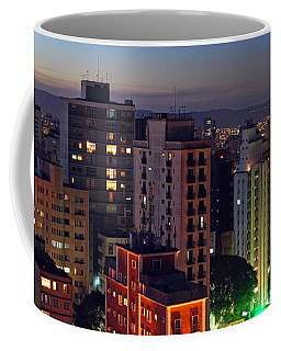 Sao Paulo Downtown At Dusk Coffee Mug