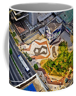 Sao Paulo Downtown - Geometry Of Public Spaces Coffee Mug