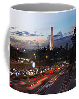 Sao Paulo Skyline - Ibirapuera Coffee Mug