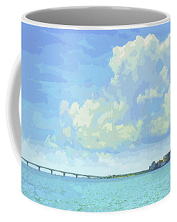 Sarasota Skyline From Sarasota Bay Coffee Mug