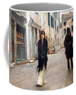 Sargent's Street In Venice Coffee Mug by Cora Wandel